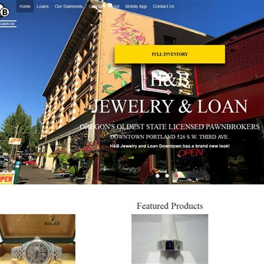 H & B Jewelry & Loan wedding vendor preview