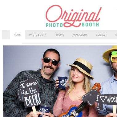 The Original Photo Booth wedding vendor preview