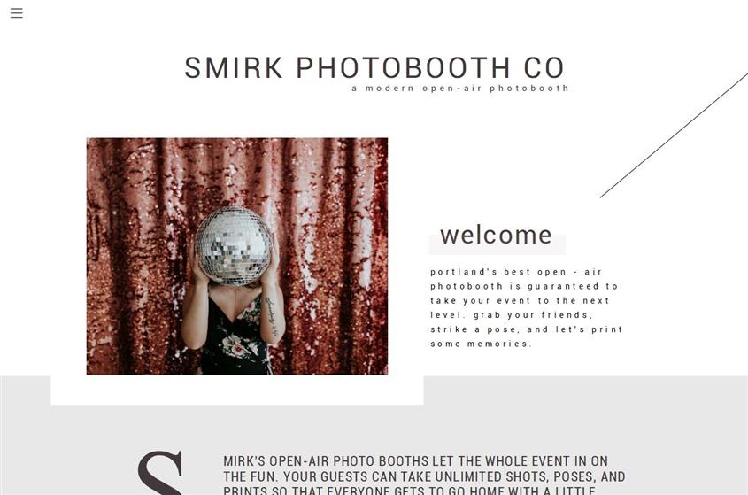 Smirk Photobooth Co wedding vendor photo