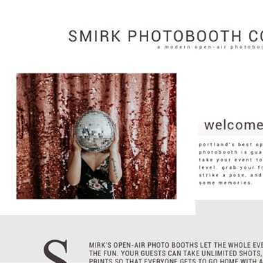 Smirk Photobooth Co wedding vendor preview