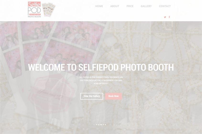 selfiepod photo booth wedding vendor photo