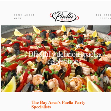 Paella Bliss wedding vendor preview