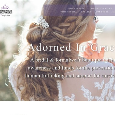 Adorned In Grace Bridal and Formalwear Shop wedding vendor preview