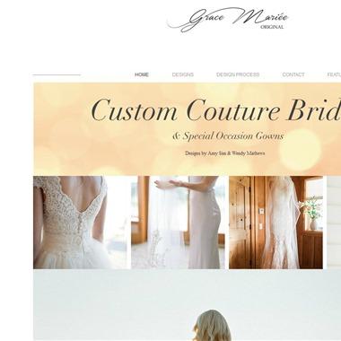 Grace MariEe Original wedding vendor preview