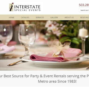 Interstate Special Events wedding vendor preview