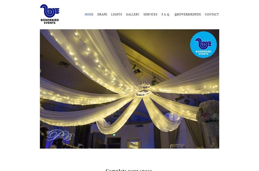 Bower Bird Events wedding vendor photo
