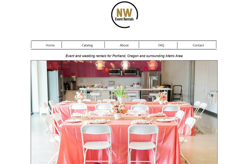 NW Event Rentals wedding vendor photo