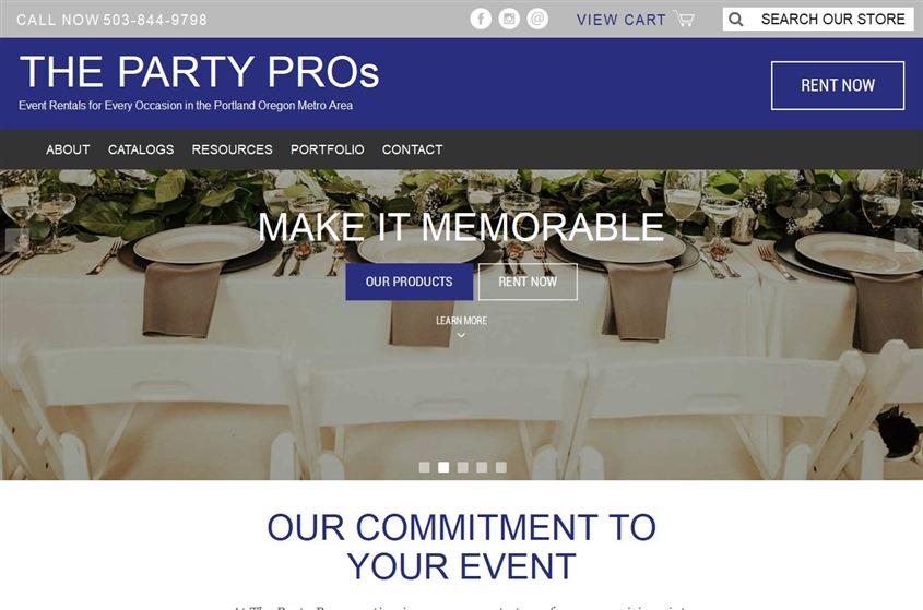 The Party Pros wedding vendor photo