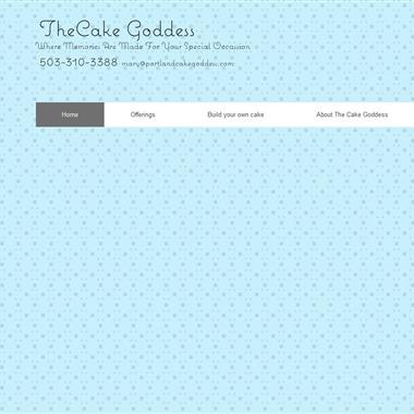 The Cake Goddess wedding vendor preview