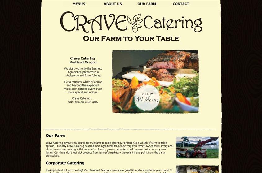 Crave Catering wedding vendor photo