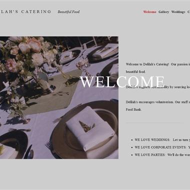 Delilah's Catering wedding vendor preview