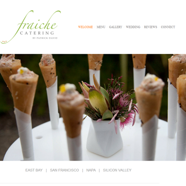 Fraiche Catering San Francisco wedding vendor preview
