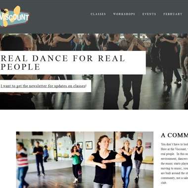 The Viscount Dance Studio wedding vendor preview