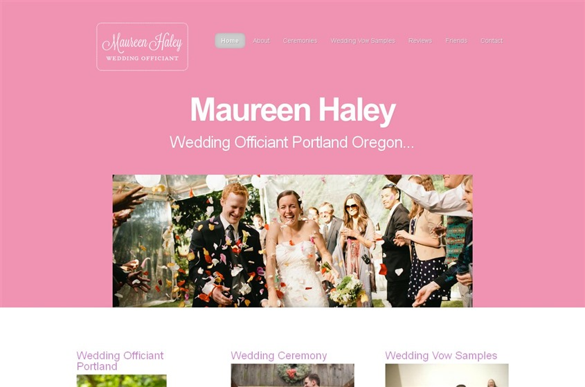 Maureen Haley wedding vendor photo
