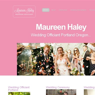 Maureen Haley wedding vendor preview