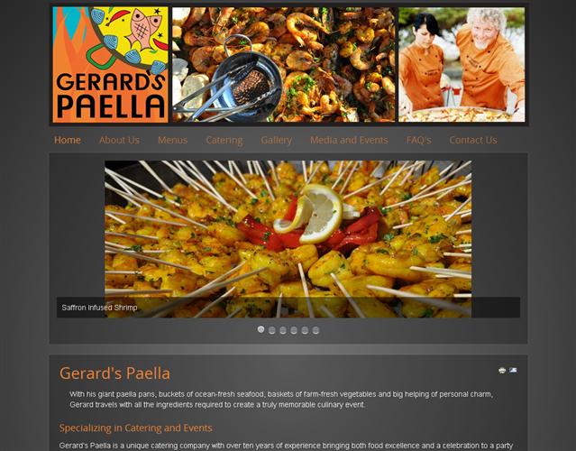 Gerard's Paella wedding vendor photo