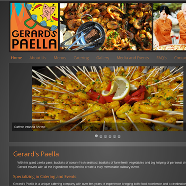Gerard's Paella wedding vendor preview