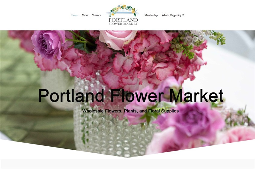 Portland Flower Market wedding vendor photo