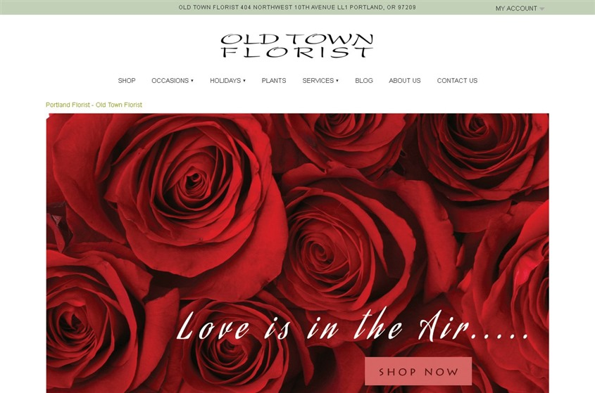 Old Town Florist wedding vendor photo