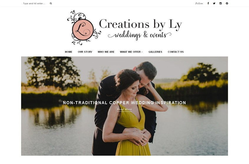 Creations By Ly wedding vendor photo