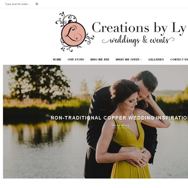 Creations By Ly wedding vendor preview