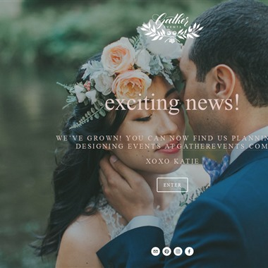 Gather Events Planning wedding vendor preview