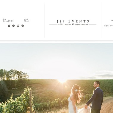 J29 Events wedding vendor preview