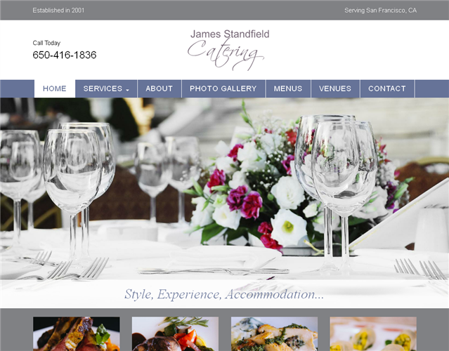 James Standfield Catering wedding vendor photo