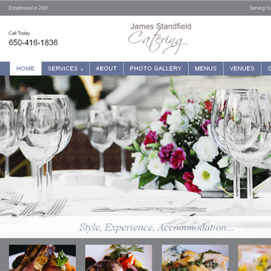 James Standfield Catering wedding vendor preview