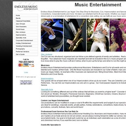 Photo of Endless Music Entertainment Test, a wedding Musicians in LAS VEGAS