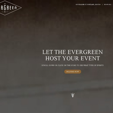 The Evergreen wedding vendor preview