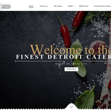 Detroit Catering Company wedding vendor preview