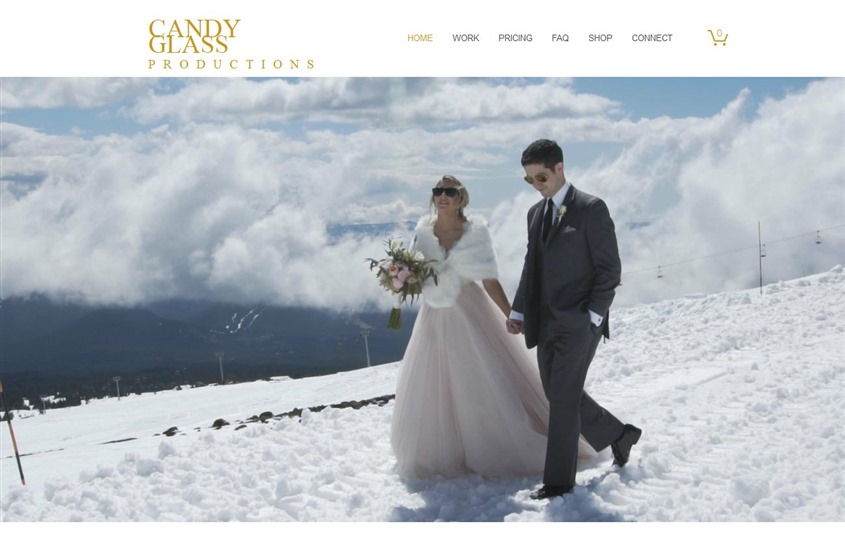 Candy Glass Productions wedding vendor photo