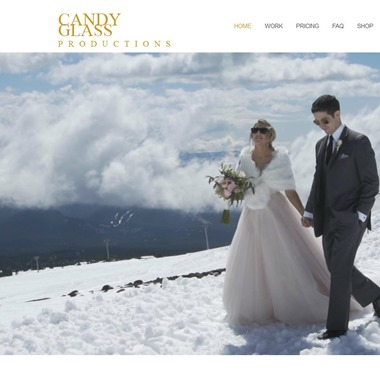 Candy Glass Productions wedding vendor preview