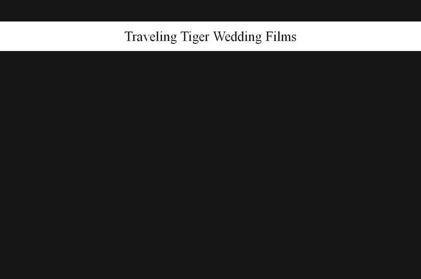 Traveling Tiger Productions wedding vendor photo