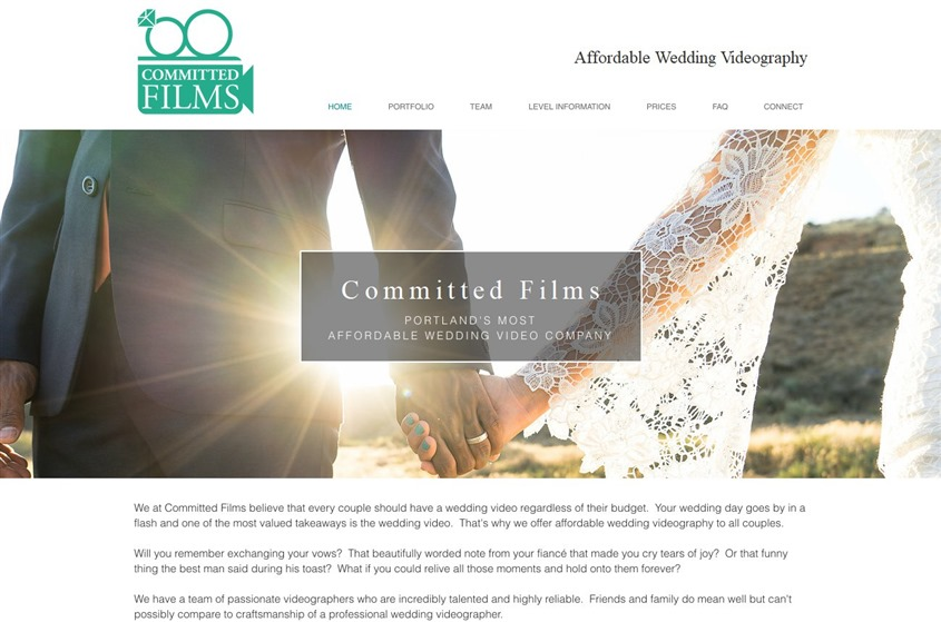 Committed Films wedding vendor photo