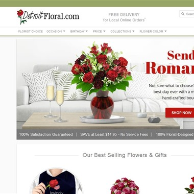 Detroit Floral wedding vendor preview