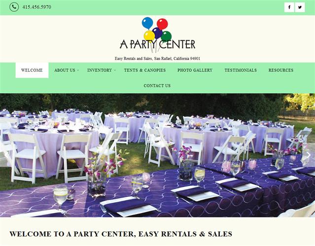 A Party Center wedding vendor photo