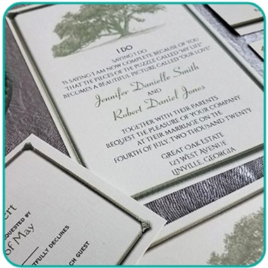 Noteable Invitations wedding vendor preview