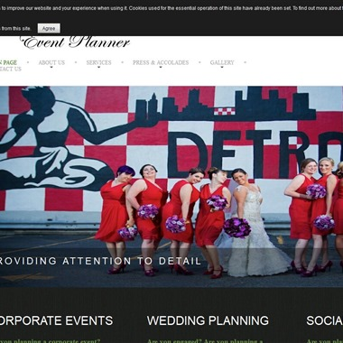 The Event Planner wedding vendor preview