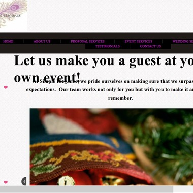 Simple Elegance Wedding & Event Planning wedding vendor preview