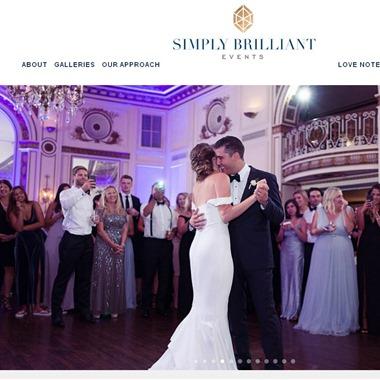 Simply Brilliant Events wedding vendor preview