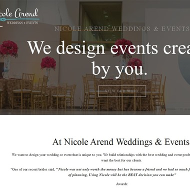Nicole Arend Weddings & Events wedding vendor preview