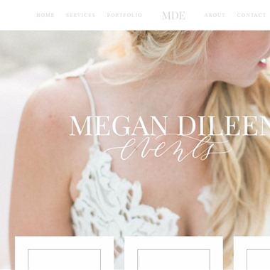 Megan Dileen Events wedding vendor preview
