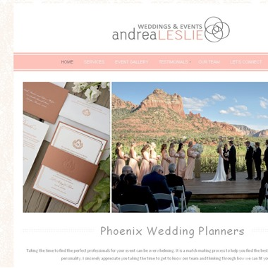 Andrea Leslie Weddings and Events wedding vendor preview