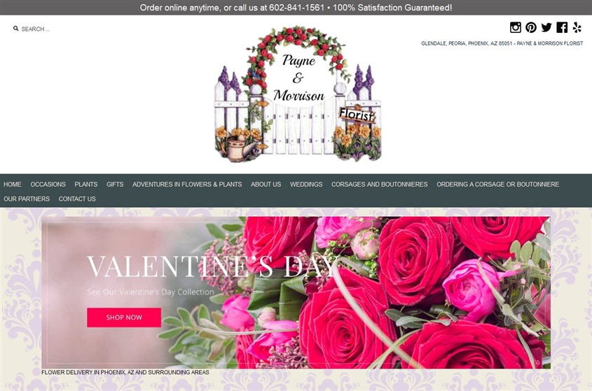 Payne And Morrison Florist Phoenix Wedding Florist