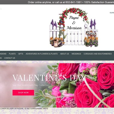 Payne and Morrison Florist wedding vendor preview