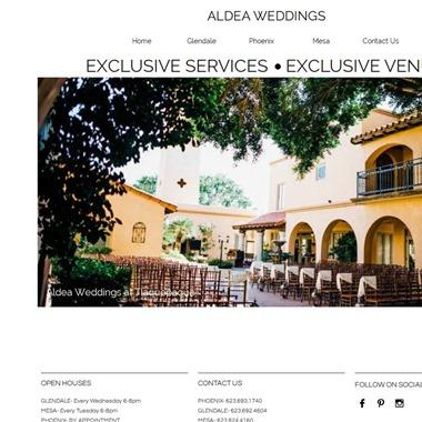 Aldea Weddings wedding vendor preview