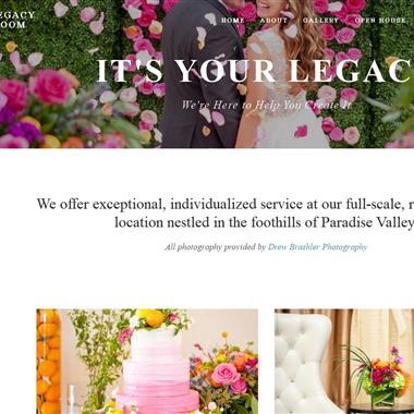 The Legacy Ballroom wedding vendor preview