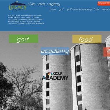 Legacy Golf Club wedding vendor preview